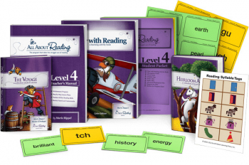 All About Reading Level 4 Materials Color Edition
