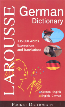 Larousse Pocket German/English Dictionary