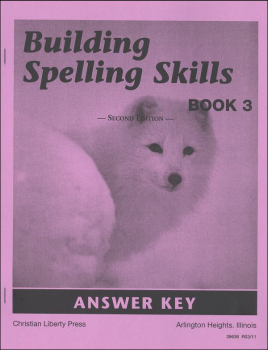 Building Spelling Skills 3 Teacher Manual 2ed