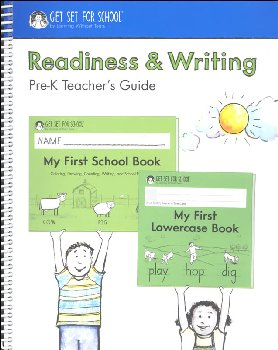 Readiness & Writing Pre-K Teacher Guide 2020 Edition