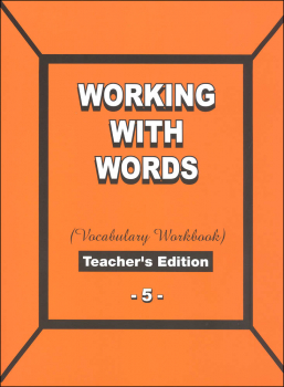 Working with Words 5 Teacher