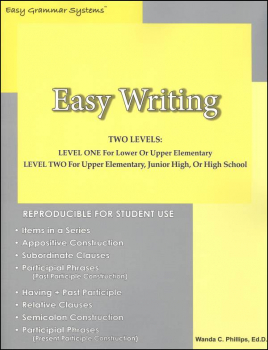 Easy Writing: Teaching Students How to Write Complex Sentence Structures