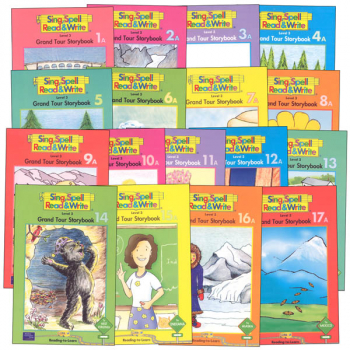 Sing, Spell, Read & Write Level 3 Storybook Readers (17 Titles)