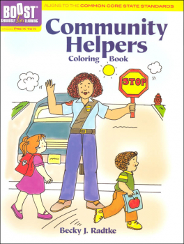 Community Helpers Coloring Book(Boost Series)