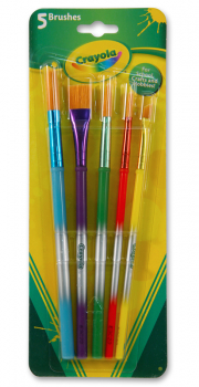 Crayola Paint Brushes - 5 Ct.