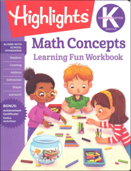 Kindergarten Math Concepts (Highlights Learning Fun Workbook)