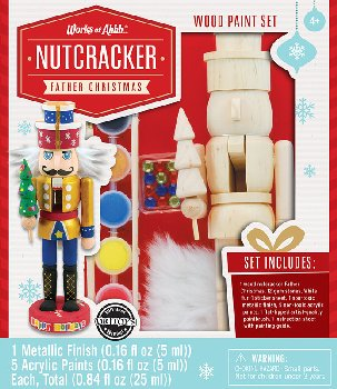 Nutcracker Father Christmas Painting Kit