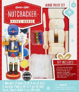 Nutcracker King's Guard Painting Kit
