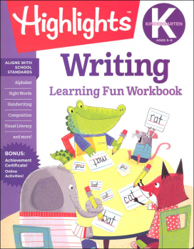 Kindergarten Writing (Highlights Learning Fun Workbook)