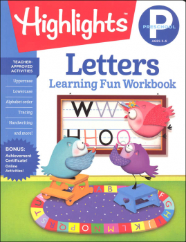 Preschool Letters (Highlights Learning Fun Workbook)
