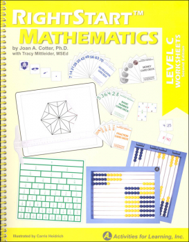 RightStart Mathematics Level C Worksheets 2nd Edition