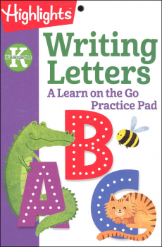 Highlights Kindergarten Writing Letters Practice Pad