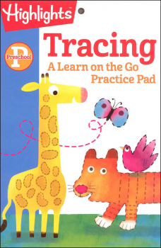 Preschool Tracing Practice Pad