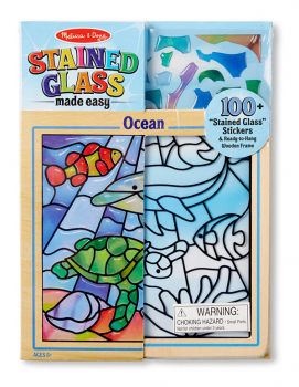"Peel & Press ""Stained Glass"" - Ocean"