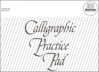 "Calligraphy Practice Pad 9"" x 12"" 50 sheets"