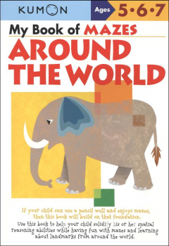 My Book of Mazes - Around the World