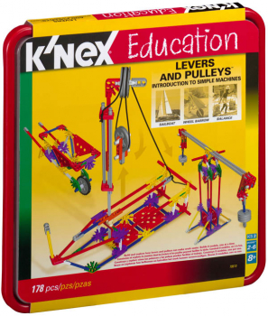 Intro to Simple Machines: Levers & Pulleys Set (178 Pieces)