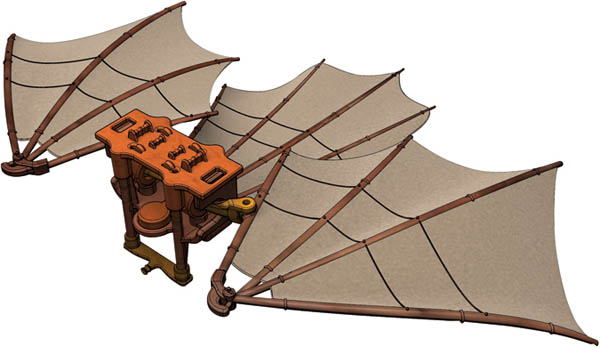 Leonardo da Vinci Kit - Great Kite