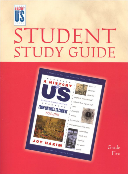 From Colonies To Country Elementary Student Guide (History of US Book 3)
