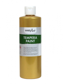 Gold Metallic Tempera Paint 8oz.