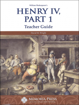 Henry IV, Part 1 Teacher Guide