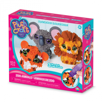 PlushCraft Zoo Animals (3D minis)