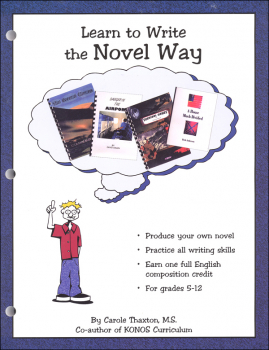 Learn to Write the Novel Way Text