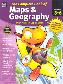 Complete Book of Maps & Geography Gr 3-6