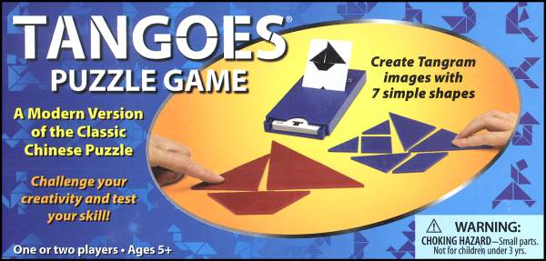 Tangoes Puzzle Game