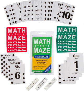 Math Maze Starter Game Set