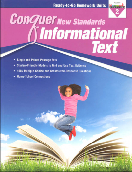 Conquer New Standards Informational Text Grade 2