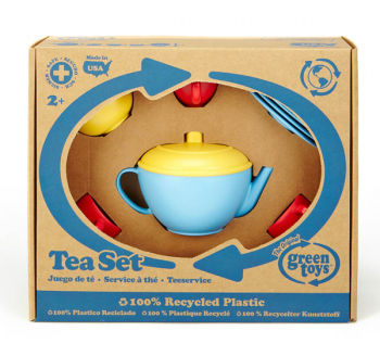 Tea Set - Blue/Red/Yellow