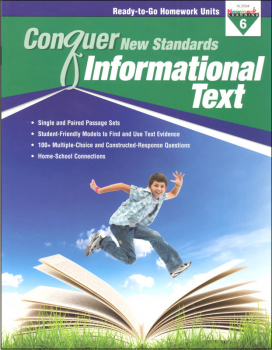 Conquer New Standards Informational Text Grade 6