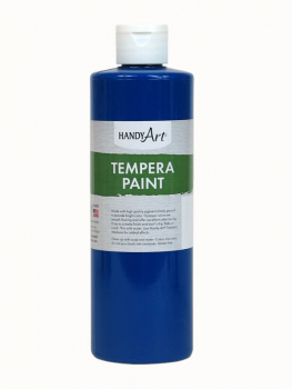 Blue Tempera Paint 16 oz.