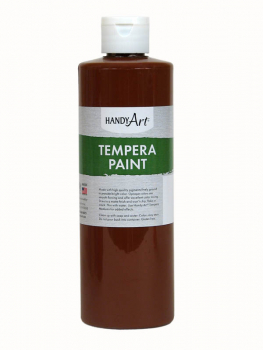 Brown Tempera Paint 16 oz.