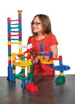 Slide-Maker Marble Run with 68 pcs.