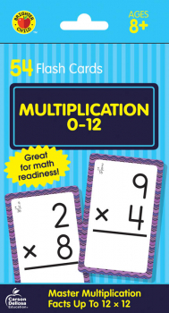 Brighter Child Flash Cards - Multiplication 0-12