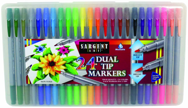 Dual Tip Marker Set (24 count)