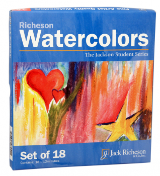 Richeson Tube Watercolors 18-color Set