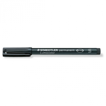 Superfine Lumocolor Permanent Marker - Black