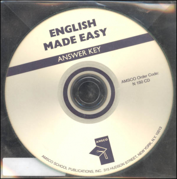 English Made Easier Answer Key (CD)