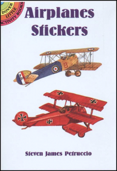 Airplanes realistic stickers