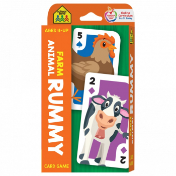 Farm Animal Rummy Card Game