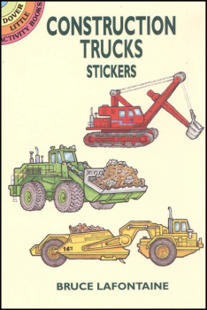 Construction Trucks realistic stickers