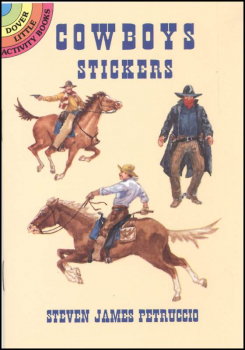Cowboys realistic stickers