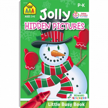 Jolly Hidden Pictures (Little Busy Book)