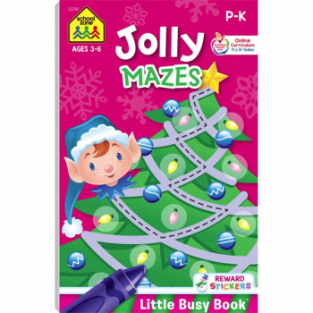 Jolly Mazes (Little Busy Book)