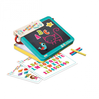 Magnetic Chalkboard Travel Case & Play Station (Lil' Clasics)