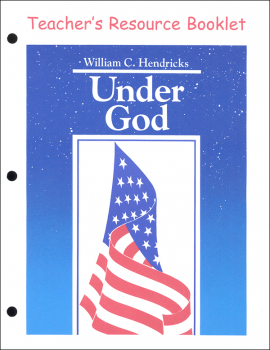 Under God Teacher's Resource Booklet (7th Ed)