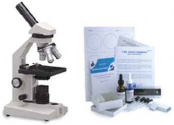 Biology Lab Materials w/ Microscope #40030